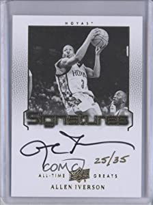 Allen Iverson #25 35 Georgetown Hoyas (Basketball Card) 2013 All-Time Greats... by All-Time Greats