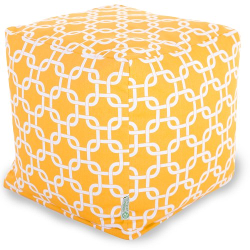 Majestic Home Goods Yellow Links Cube Small at Sears.com