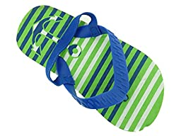 ZTTB-2507-Tod Boys Flip Flop in Fun Patterns with Backstrap-ANCHR-M