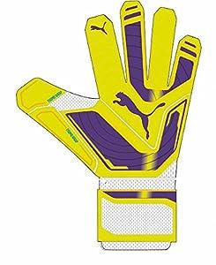 PUMA Handschuhe Evopower Super, Fluro Yellow-Prism Violet-Scuba Blue, 10, 041022 06