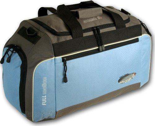 Sporttasche FULL MOTION XL 60 Reisetasche Hellblau