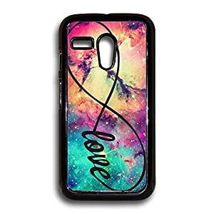 Infinity Love Galaxy Background Motorola Case, Moto G Case, Motorola G Case, Moto G 1st Gen Case