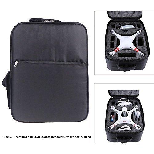 Autolizer Shockproof Drop-proof Shoulder Backpack Carrying Case Bag