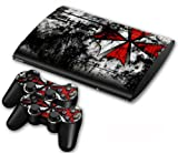 NuoYa001 Skin Sticker Cover Decal For PS3 PlayStation Super Slim 4000 + 2 Controllers #94