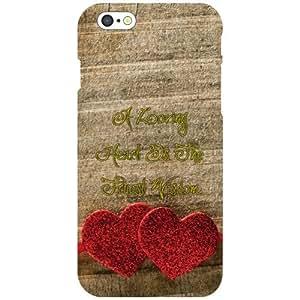 Apple iPhone 6 Back Cover - Heart Designer Cases