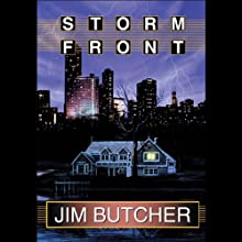 Storm Front: The Dresden Files, Book 1 (       UNABRIDGED) by Jim Butcher Narrated by James Marsters