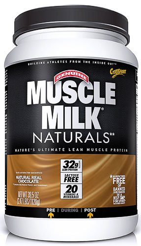 Cytosport Muscle Milk Naturals Real Chocolate -- 2.47 Lbs