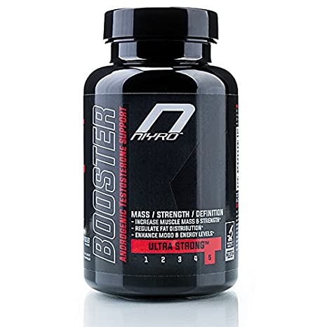 Niyro Nutrition - Testosterone Booster - Mass, Strength & Definition - Ultra Strong Supplement (100 capsules)