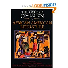 African American Literature (The Oxford Companion) by William L. Andrews,&#32;Francis Smith Foster and Trudier Harris