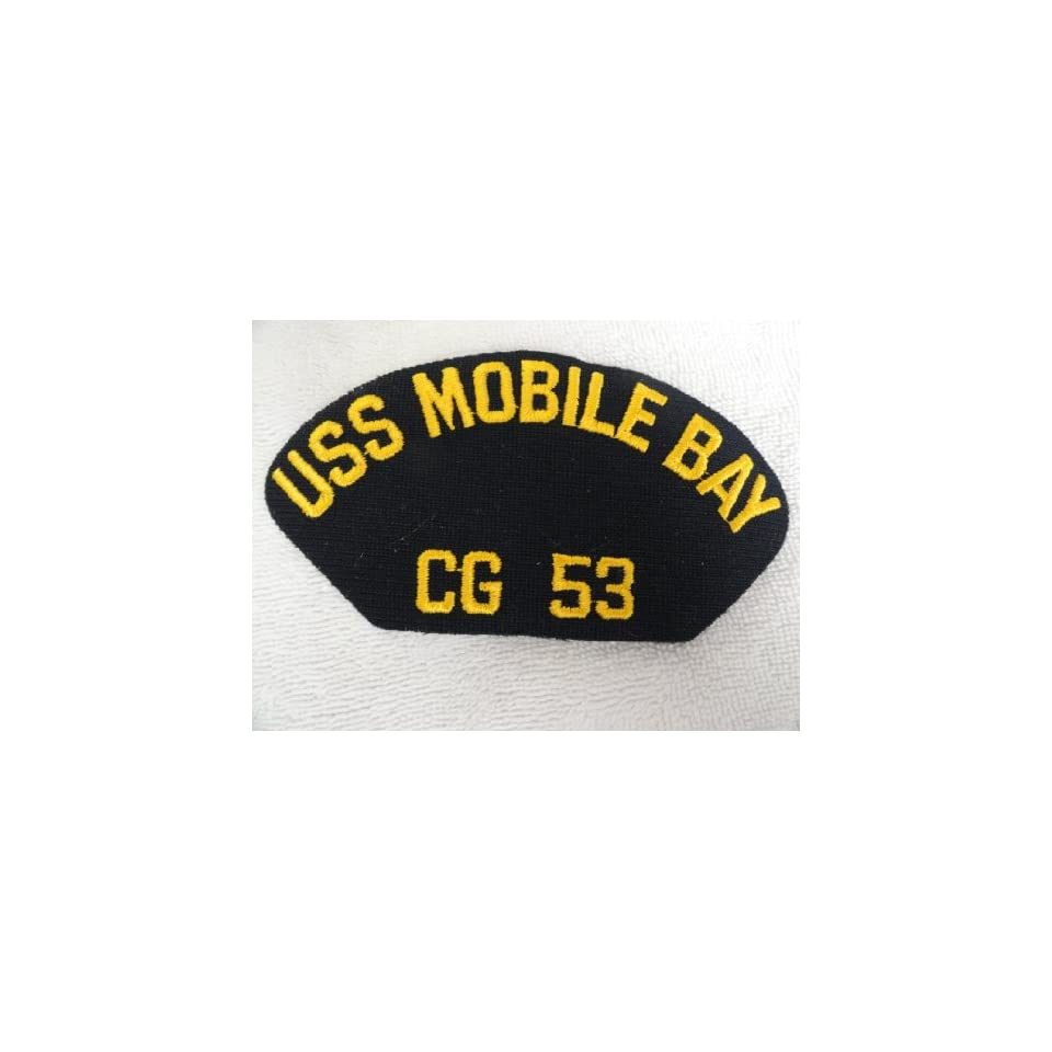 USS Mobile Bay Navy Patch