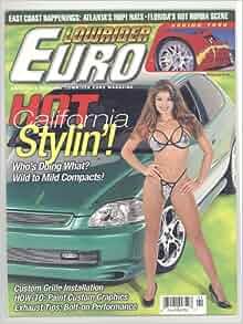 Lowrider Euro Magazine Spring 1999 vol.2 #1: Alberto Lopez: Amazon.com