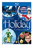 Cover art for  Essential Holiday Collection (The Polar Express / National Lampoon's Christmas Vacation / Elf / A Christmas Story) [Blu-ray]