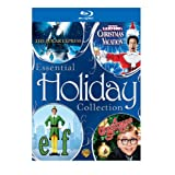 Essential Holiday Collection (The Polar Express / National Lampoon's Christmas Vacation / Elf / A Christmas Story) [Blu-ray] ~ Warner Bros