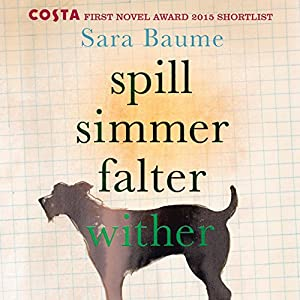 Spill Simmer Falter Wither Audiobook by Sara Baume Narrated by John Keating