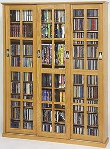 Amazon Com Cd Dvd Vhs Huge Sliding Glass Door Storage