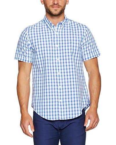 PDH Camisa Hombre Azul