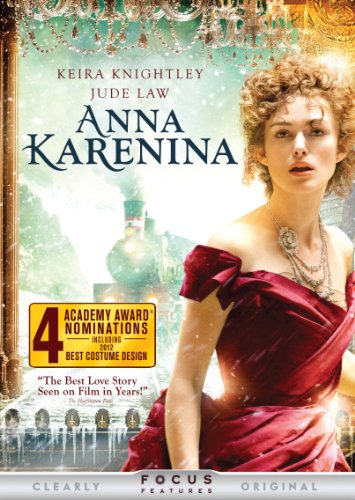 Anna Karenina (Directed by Joe Wright) - Academy Awardr nominee Keira Knightley, Academy Awardr nominee Jude Law and Aaron Taylor-Johnson dazzle in this stunning new vision of Leo Tolstoy's epic love story. At the twilight of an empire, Anna Karenina (Knightley), the beautiful high-ranking wife of one of imperial Russia's most esteemed men (Law), has it all. But when she meets the dashing cavalry officer Vronsky (Taylor-Johnson), there is a mutual spark of instant attraction that cannot be ignored. She's immediately swept up in a passionate affair that will shock a nation and change the lives of everyone around her. From acclaimed director Joe Wright (Atonement, Pride & Prejudice) and Academy Awardr-winning writer Tom Stoppard (Shakespeare in Love) comes this visually enchanting masterpiece hailed by critics as ecstatic (Time), rapturous (MSN Movies) and a spectacle that has to be seen to be believed! (The Huffington Post)