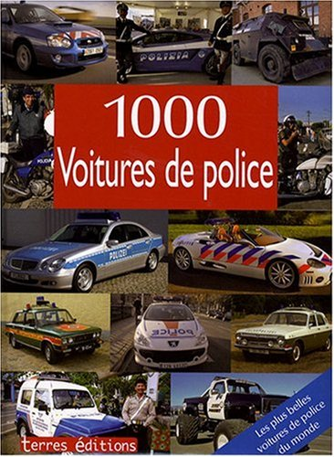 livre 1000 voitures de police. Black Bedroom Furniture Sets. Home Design Ideas