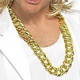 Toy - Goldkettchen Maxi Kette Gangster Kette Rapperkette Kette gold Pimp