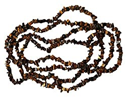 5x10mm Honey Brown Marble Bead Chips Strand (325 Piece)