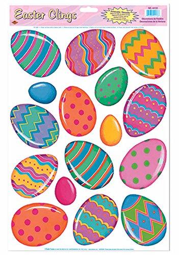 Easter Egg Glass Magnets