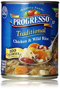 Progresso Traditional Soup, Chicken & Wild Rice, 19 Oz