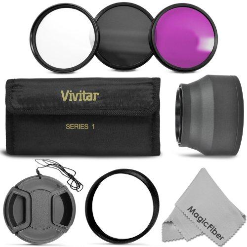 Lens Cap Center Pinch for Canon EOS 6D 43mm + Lens Cap Microfiber Cloth