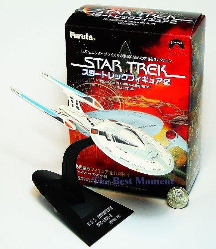 Star Trek 2 #SECRET Furuta Volume Star Trek Enterprise 1701 E model with Original Color Box. Federation Ships & Alien Ships (Original from TheBestMoment @ Amazon)