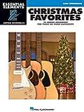Christmas Favorites: Essential Elements Guitar Ensembles Early Intermediate Level