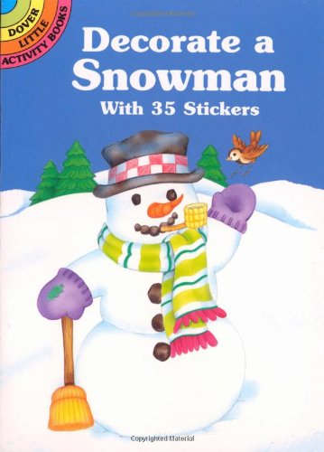 Decorate a Snowman With 35 Stickers PDF