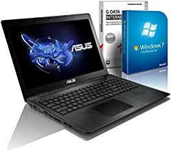 ASUS 55xMA (15,6 Zoll) Notebook (Intel N2830 Dual Core 2x2.16 bis zu 2.42 GHz, 4GB RAM, 640GB S-ATA HDD, Intel HD Graphic, HDMI, Webcam, USB 3.0, WLAN, DVD-Brenner, Windows 7 Professional 64 Bit) #4804