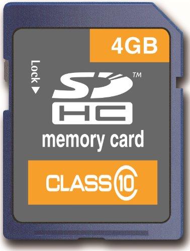Memzi 4Gb Class 10 20Mb/S Sdhc Memory Card For Bushnell Trail Surveillance Series Digital Cameras