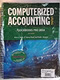 img - for Computerized Accounting Using QuickBooks Pro 2014 book / textbook / text book