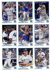 2013 Topps Baseball Cards Update Series- New York Yankees Team MLB Trading Set - 19... by Topps