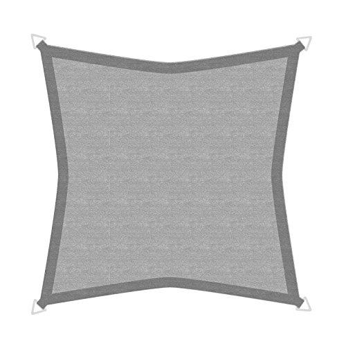 windhager-10970-vela-de-sombra-para-patio-5m-cuadrado-color-granito