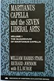 img - for Martianus Capella and the Seven Liberal Arts: The Quadrivium of Martianus Capella, Latin Trad. (Records of Western Civilization Series) book / textbook / text book