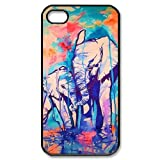 Elephant Design Hard Case Cover Skin for iphone 4 4s