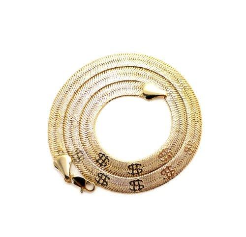 8-mm-51-cm-goldton-catena-a-lisca-hering-con-decorazione-simbolo-del-dollaro-d7040-20