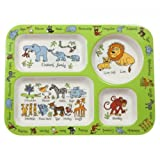Jungle Kids Compartment Tray