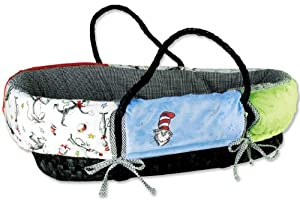 Trend Lab Moses Basket Set, Dr. Seuss Cat in the Hat