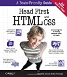 img - for Head First HTML and CSS book / textbook / text book