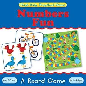 Preschool Games: Numbers Fun Board Game (Flash Kids Preschool Games)