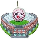 Kurt Adler 3-3/4-Inch Boston Red Sox Fenway Park with Baseball Ornament