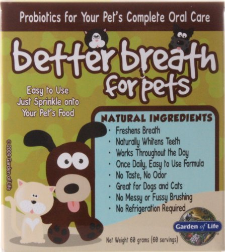 Better Breath for Pets, 60 Grams, From Garden of Life