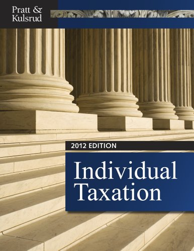 Individual Taxation 2012 (with CPA Excel Printed Access...
