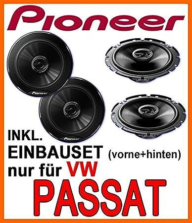 VW passat 3B 3BG pioneer &haut-parleur avant avec &à l'arrière