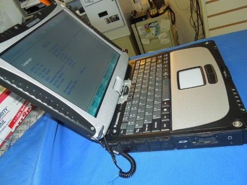 CF-19CDBAXVM/MK1/CF-19 Digitizer/Laptop/Notebook/Panasonic Toughbook / Tablet PC / 2gb ram/ 80gb Hard Drive/ wifi/ 10.4 inch LCD/