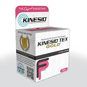 KINESIO TAPE TEX GOLD 5CM X 5M - PINK/RED