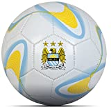 Manchester City Football Club Size 5 Football Sky White