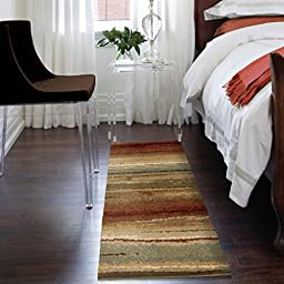 Orian Rugs Striped Capizzi Multi Area Rug (2\'3\